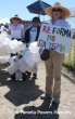 Protesting migrant deaths in the Arizona desert.