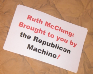 Ruth McClung: Brought to you by the Republican Party Machine