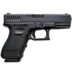 Glock semiautomatic handgun like the one used to shoot Congresswoman Gabrielle Giffords and kill six innocent people in Tucson on January 8, 2011.