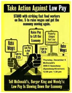 McDonalds December 5 action