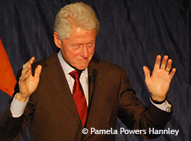 President Bill Clinton at ASU in 2012