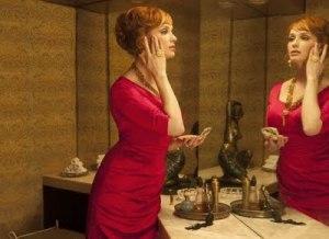 Mad Men Joan's bathroom perfume scene