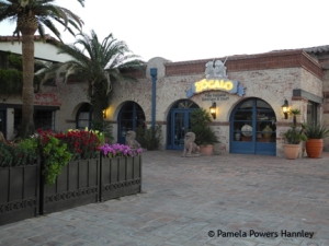 Another view of the Broadway Village Shopping Center, designed by Tucson icon Josias Joesler.