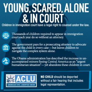 ACLU refugee children