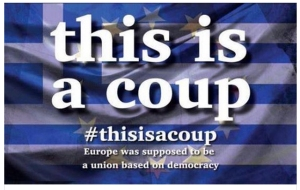 #ThisIsACoup hashtag gains popularity.