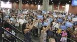 Bernie Sanders crowd