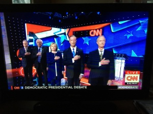 Democratic Party debate, Oct. 13, 2015