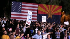 Bernie Sanders in Tucson
