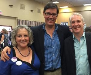 Pamela Powers Hannley, Sen. Steve Farley, Rep. Randy Friese