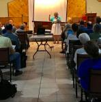 Giving the LD9 update at the June meeting. What a great crowd!