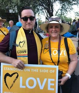 Rev. Ron Phares and Pamela Powers Hannley
