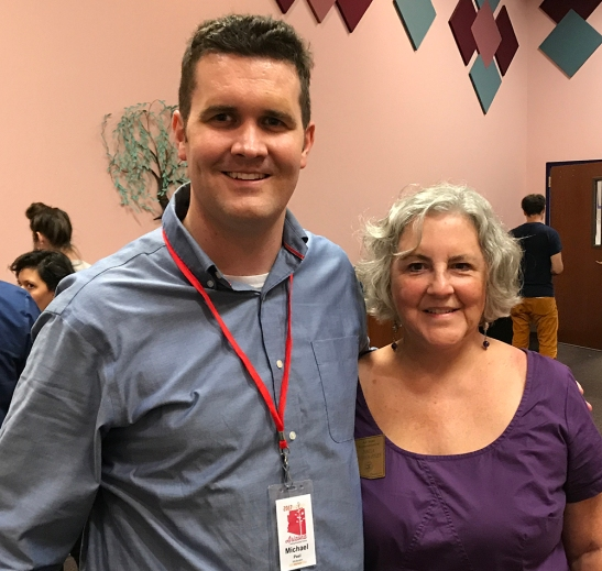 Michael Peel and Rep. Pamela Powers Hannley