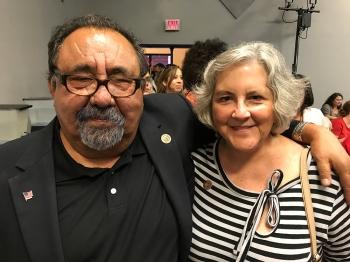 Congressman Raul Grijalva and Rep. Pamela Powers Hannley